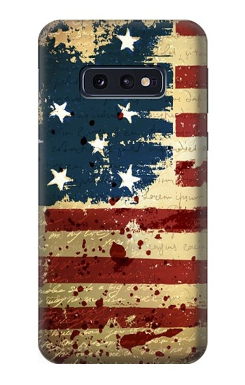 Printed Old American Flag Samsung Galaxy S10 Lite, S10e Case