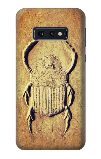 Printed Egyptian Scarab Beetle Graphic Printed Samsung Galaxy S10 Lite, S10e Case