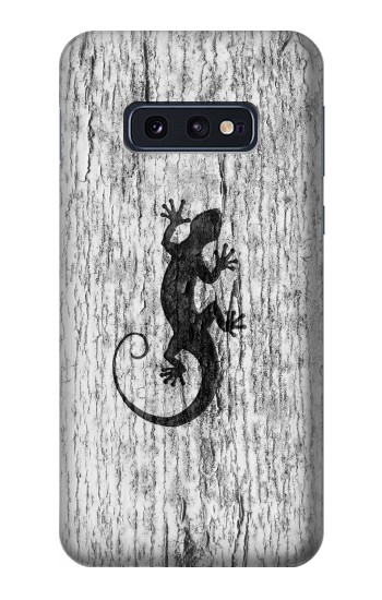 Printed Gecko Wood Graphics Printed Samsung Galaxy S10 Lite, S10e Case