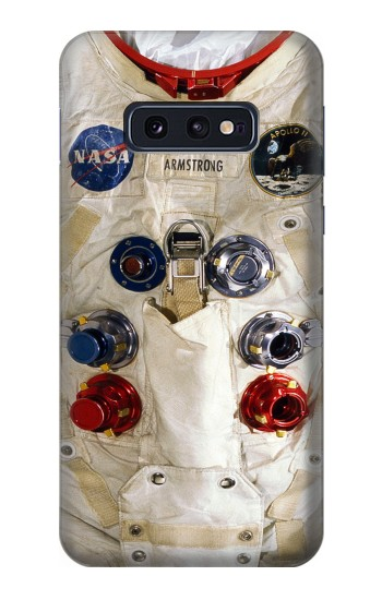 Printed Neil Armstrong White Astronaut Spacesuit Samsung Galaxy S10 Lite, S10e Case