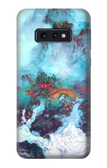 Printed White Dragon Pool Lui Haisu Samsung Galaxy S10 Lite, S10e Case
