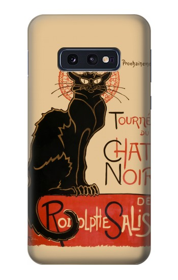 Printed Chat Noir The Black Cat Samsung Galaxy S10 Lite, S10e Case