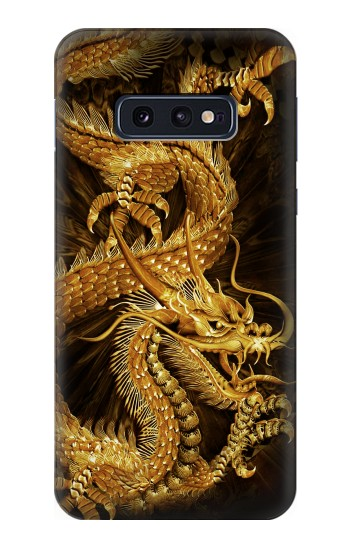 Printed Chinese Gold Dragon Printed Samsung Galaxy S10 Lite, S10e Case