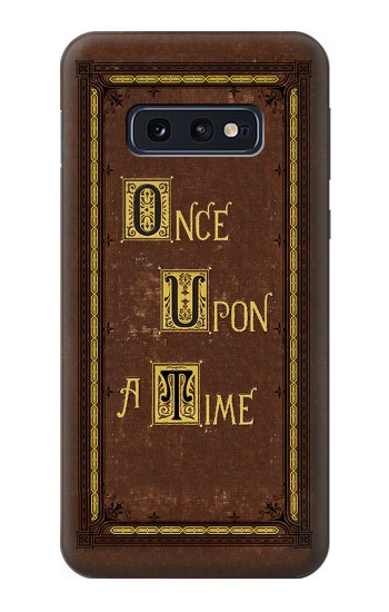 Printed Once Upon a Time Book Cover Samsung Galaxy S10 Lite, S10e Case