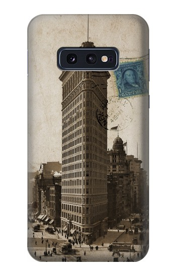 Printed New York 1903 Flatiron Building Postcard Samsung Galaxy S10 Lite, S10e Case