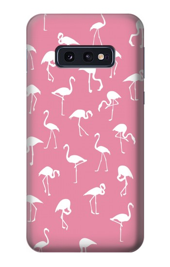 Printed Pink Flamingo Pattern Samsung Galaxy S10 Lite, S10e Case