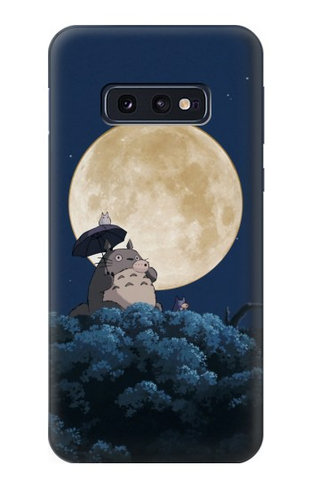 Printed Totoro Ocarina Moon Night Samsung Galaxy S10 Lite, S10e Case