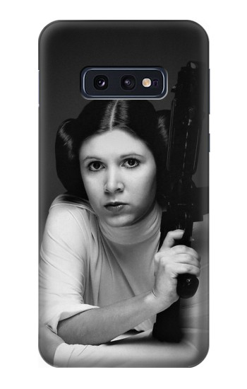 Printed Princess Leia Carrie Fisher Samsung Galaxy S10 Lite, S10e Case