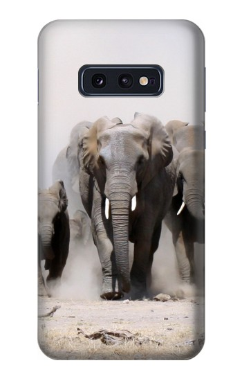 Printed African Elephant Samsung Galaxy S10 Lite, S10e Case