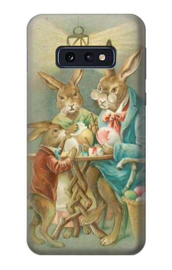 Printed Easter Rabbit Family Samsung Galaxy S10 Lite, S10e Case