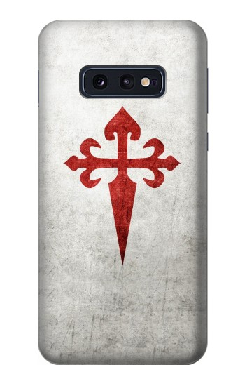 Printed Order of Santiago Cross of Saint James Samsung Galaxy S10 Lite, S10e Case