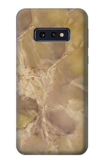 Printed Yellow Marble Stone Samsung Galaxy S10 Lite, S10e Case
