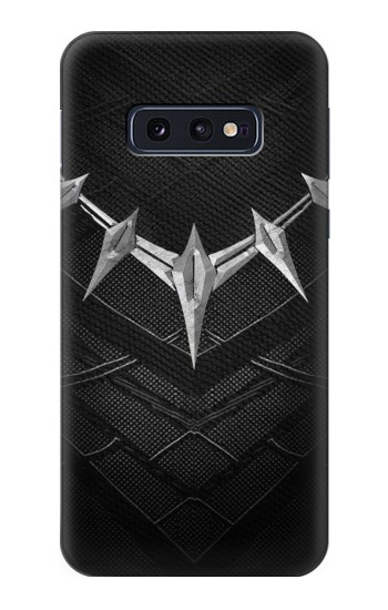 Printed Black Panther Inspired Costume Necklace Samsung Galaxy S10 Lite, S10e Case