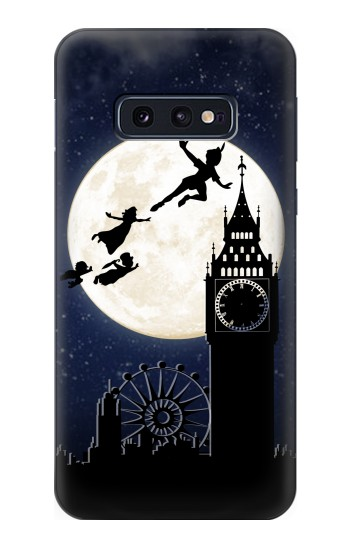 Printed Peter Pan Fly Fullmoon Night Samsung Galaxy S10 Lite, S10e Case