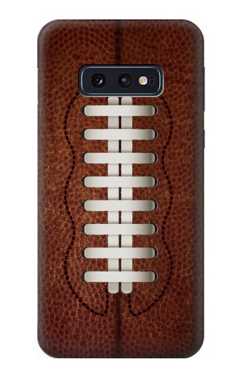 Printed Leather Vintage Football Samsung Galaxy S10 Lite, S10e Case