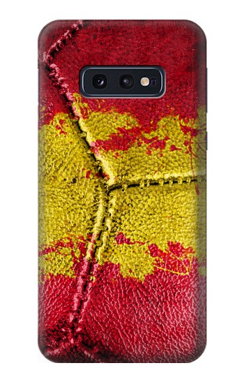 Printed Spain Flag Vintage Football 2018 Samsung Galaxy S10 Lite, S10e Case