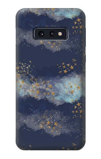 Printed Gold Star Sky Samsung Galaxy S10 Lite, S10e Case