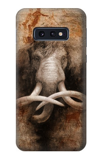 Printed Mammoth Ancient Cave Art Samsung Galaxy S10 Lite, S10e Case