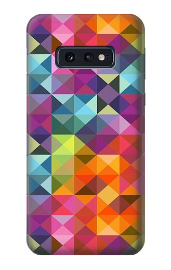 Printed Abstract Diamond Pattern Samsung Galaxy S10 Lite, S10e Case