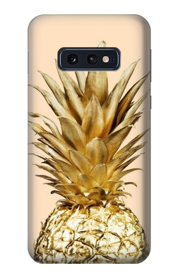 Printed Gold Pineapple Samsung Galaxy S10 Lite, S10e Case