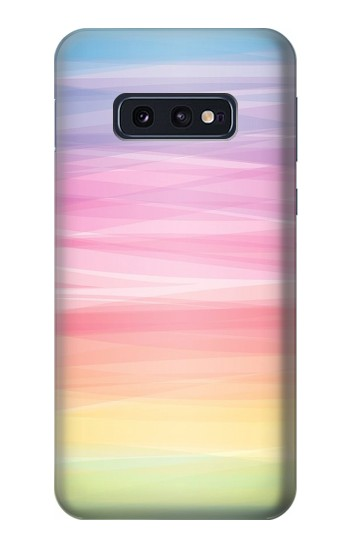 Printed Colorful Rainbow Pastel Samsung Galaxy S10 Lite, S10e Case