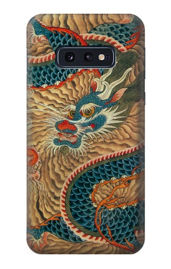 Printed Dragon Cloud Painting Samsung Galaxy S10 Lite, S10e Case