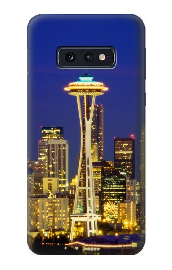 Printed Space Needle Seattle Skyline Samsung Galaxy S10 Lite, S10e Case