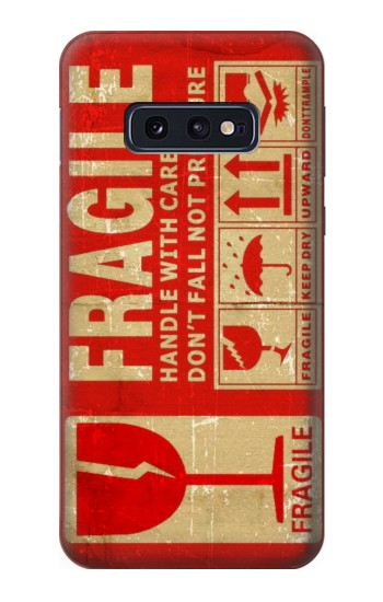 Printed Vintage Fragile Label Art Samsung Galaxy S10 Lite, S10e Case