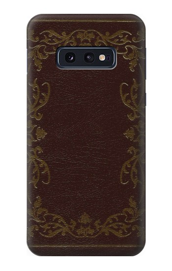 Printed Vintage Book Cover Samsung Galaxy S10 Lite, S10e Case
