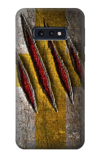 Printed Wolverine Claw Slash Samsung Galaxy S10 Lite, S10e Case