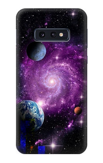 Printed Galaxy Outer Space Planet Samsung Galaxy S10 Lite, S10e Case