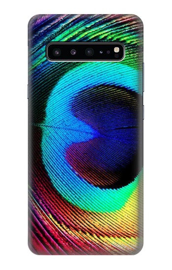 Printed Peacock Samsung Galaxy S10 5G Case