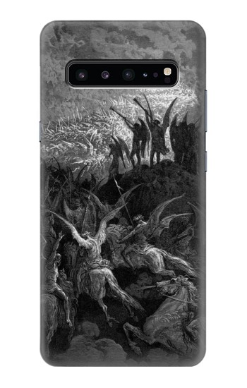 Printed Gustave Dore Paradise Lost Samsung Galaxy S10 5G Case