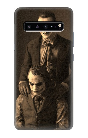 Printed Jokers Together Samsung Galaxy S10 5G Case
