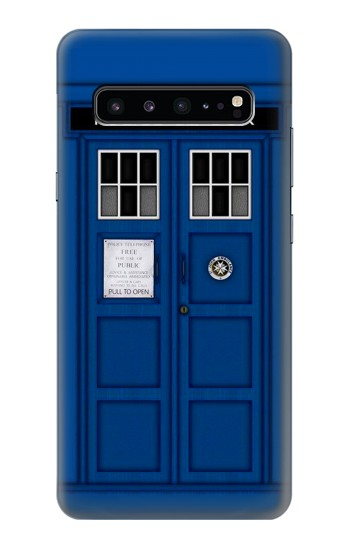Printed Doctor Who Tardis Samsung Galaxy S10 5G Case