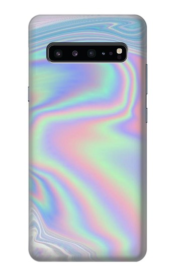 Printed Pastel Holographic Photo Printed Samsung Galaxy S10 5G Case