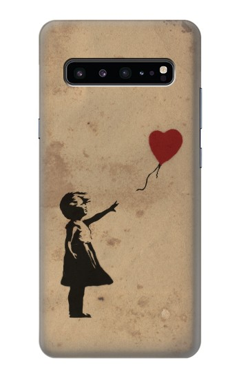 Printed Girl Heart Out of Reach Samsung Galaxy S10 5G Case