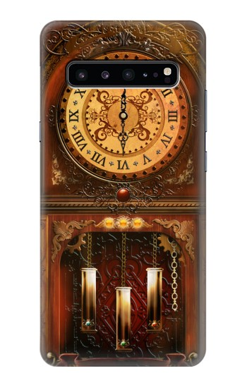 Printed Grandfather Clock Samsung Galaxy S10 5G Case