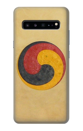 Printed Korean Traditional Drum Samsung Galaxy S10 5G Case