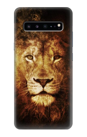 Printed Lion Samsung Galaxy S10 5G Case