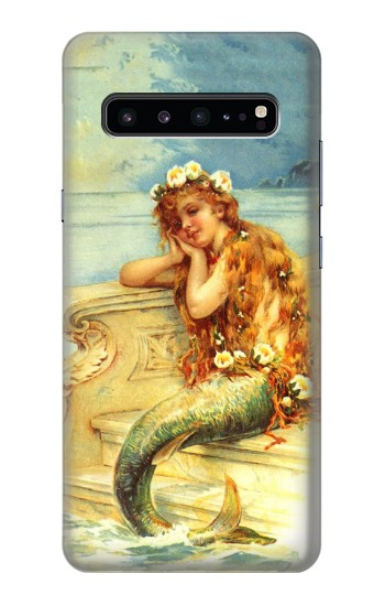 Printed Little Mermaid Painting Samsung Galaxy S10 5G Case