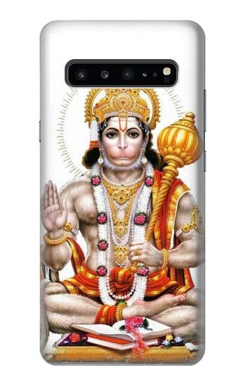 Printed Lord Hanuman Chalisa Hindi Hindu Samsung Galaxy S10 5G Case