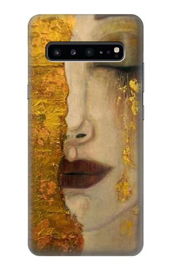 Printed Gustav Klimt Golden Tears Samsung Galaxy S10 5G Case