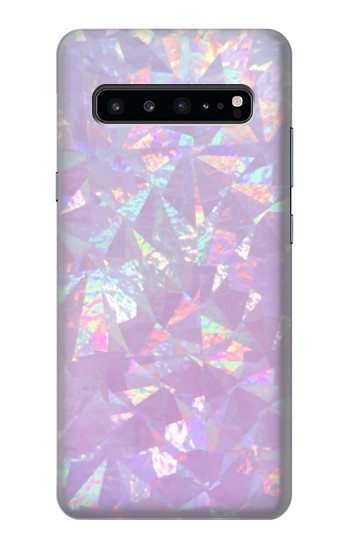 Printed Iridescent Holographic Photo Printed Samsung Galaxy S10 5G Case