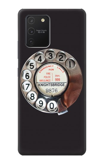 Printed Retro Rotary Phone Dial On Samsung Galaxy S10 Lite Case