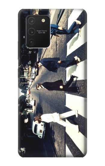 Printed The Beatles Abbey Road Samsung Galaxy S10 Lite Case