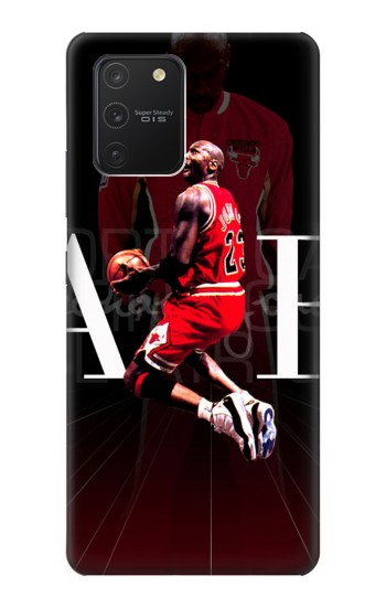 Printed Basketball Air Jordan Samsung Galaxy S10 Lite Case
