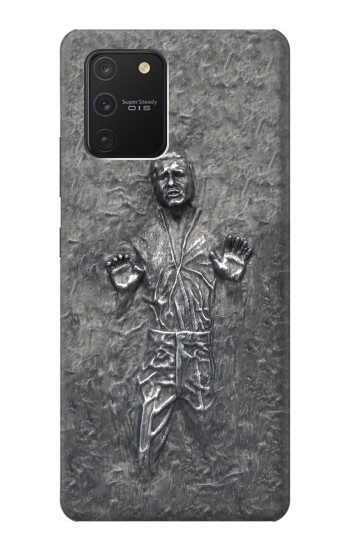 Printed Han Solo in Carbonite Samsung Galaxy S10 Lite Case