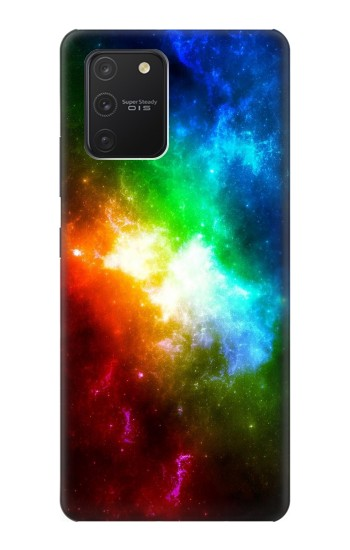 Printed Colorful Rainbow Space Galaxy Samsung Galaxy S10 Lite Case