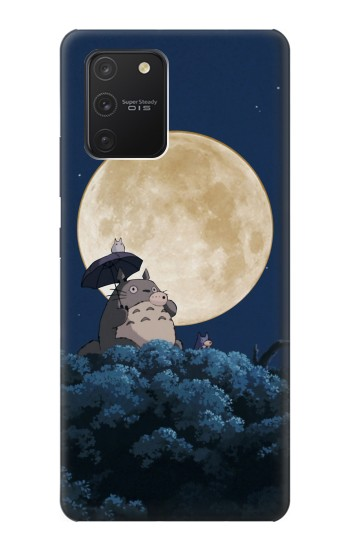 Printed Totoro Ocarina Moon Night Samsung Galaxy S10 Lite Case